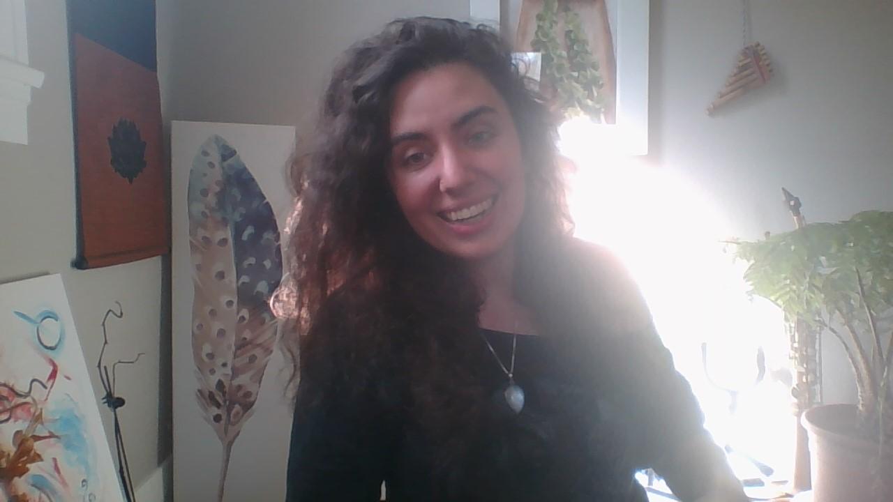 Danielle Lynn intuitive art guide